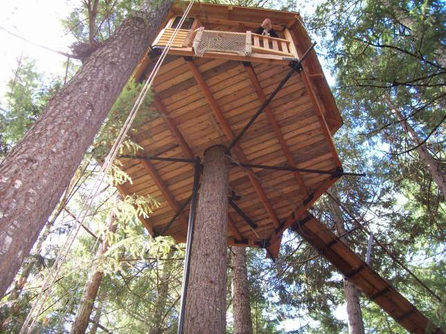 easy treehouse plans